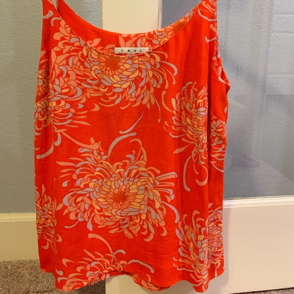 CAbi Tops - Cabi Orange Camisole tank